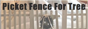 Picket Fence Sidebar