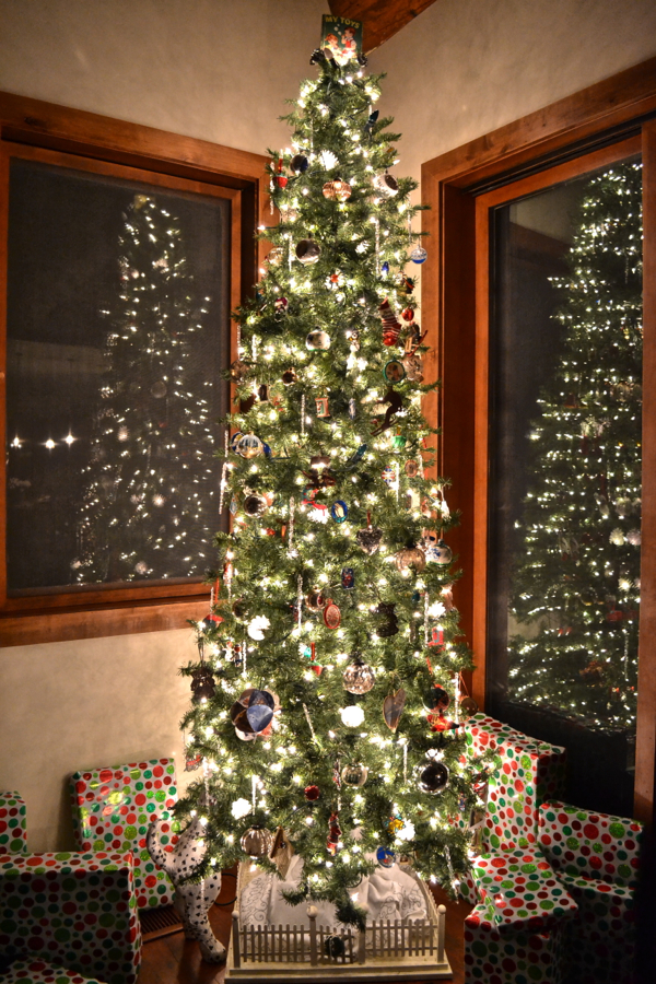 12 Days of Christmas Tree white