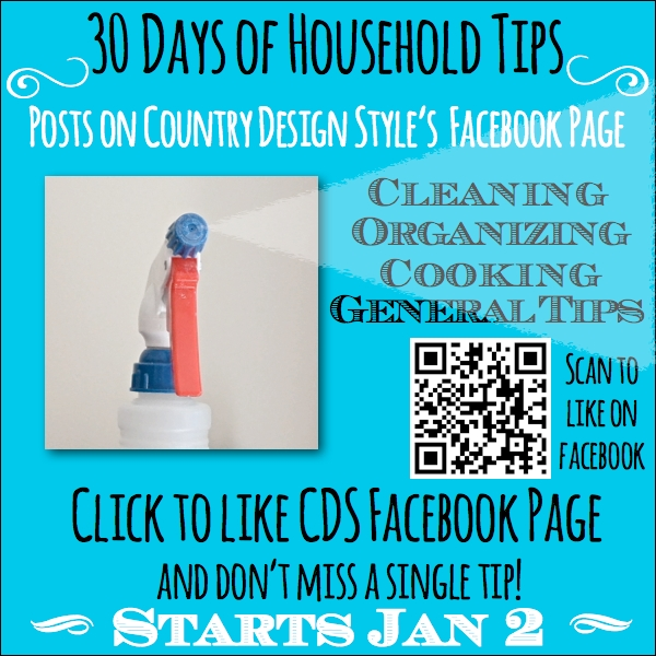 30 Days of Household Tips SQ Scan