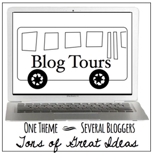 Blog Tours Button Country Design Style