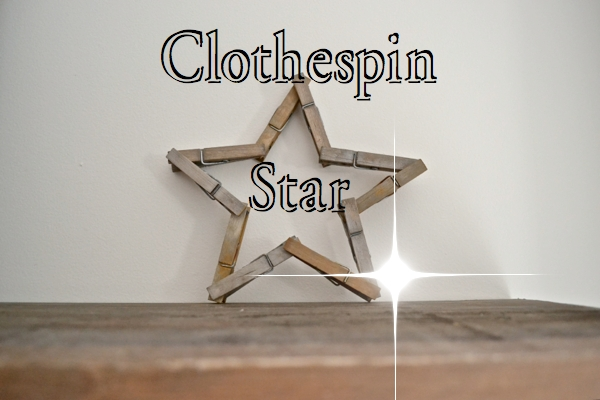 Clothespin Star Bright FP