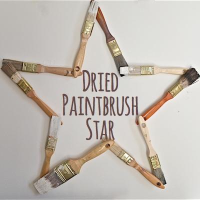 Dried Paintbrush Star
