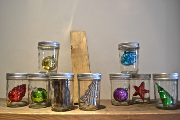 Filled jars