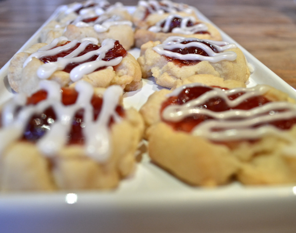 Santas Thumbprint Cookies