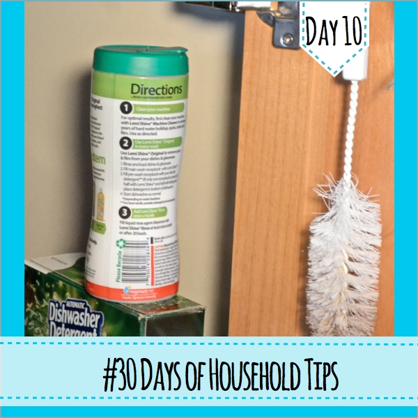 30 Days of Household Tips Day 10