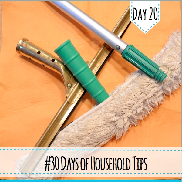 30 days of household tips day 20