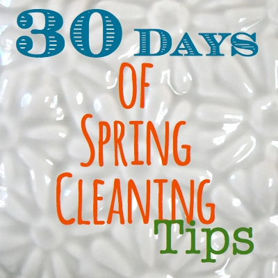 30 days of spring cleaning tips SQ