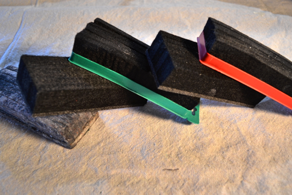 how to clean a chalkboard eraser