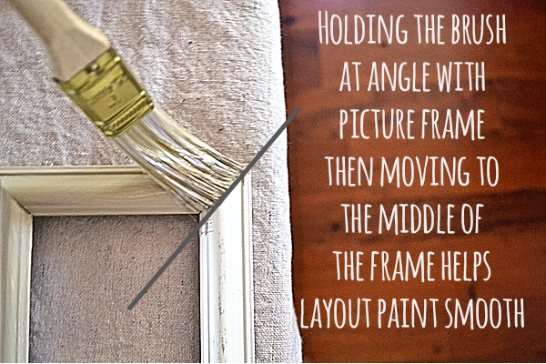 Layered Frames Painting tips for frames