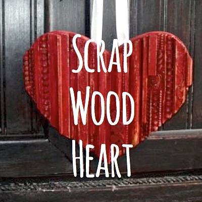 Scrap Wood Heart SQ
