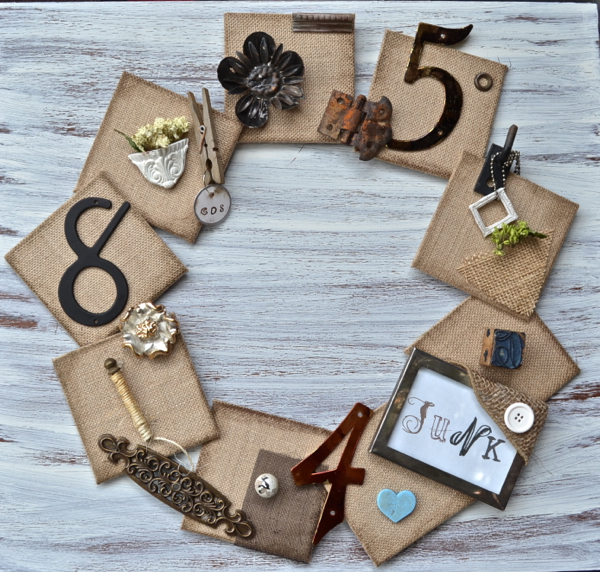 Junk-wreath-country-design-style #wreath