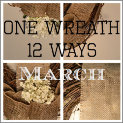 One Wreath 12 Ways March Thumb