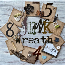 junk-wreath-sq-country-design-style #junkwreath