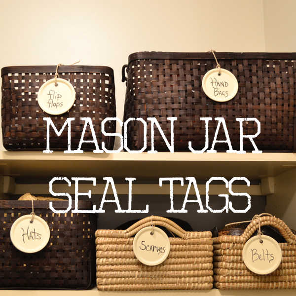 Mason Jar Seal Tags