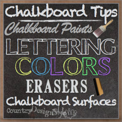 Chalk Projects - Country Design Style