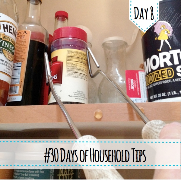 30 Days of Household Tips Day 8