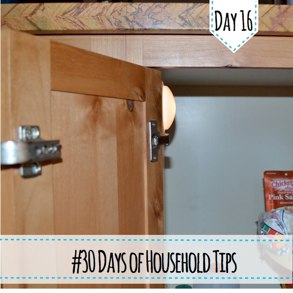 household tips light in cabinets country design style