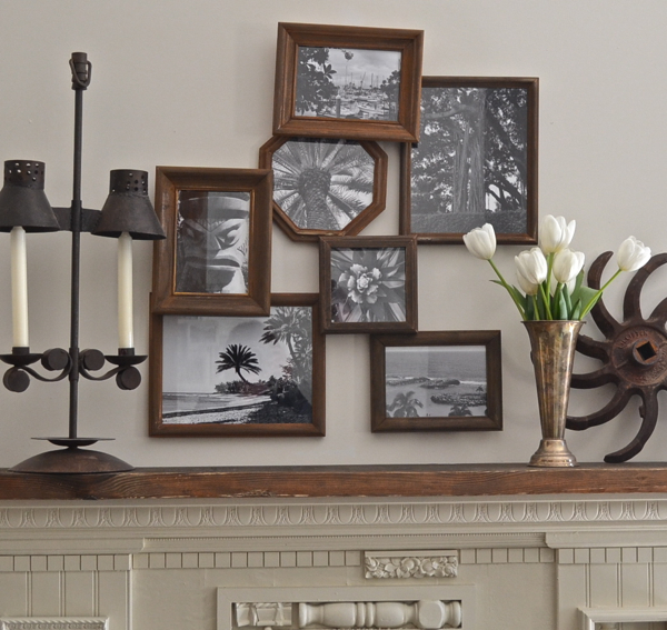 rustic layered frames http://countrydesignstyle.com