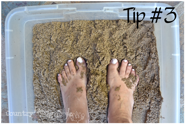 3 unique beauty tips http://countrydesignstyle #beautytips #sandforfeet