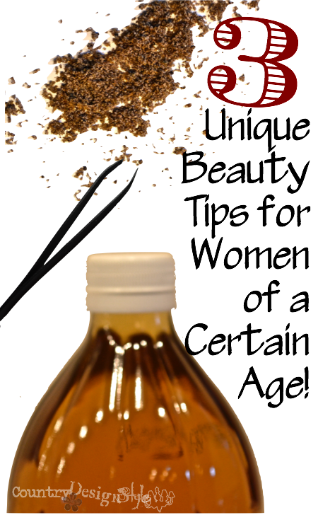 3 unique beauty tips http://countrydesignstyle #beautytips