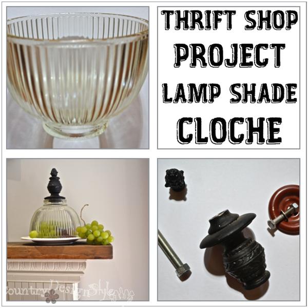 Lamp Shade Cloche