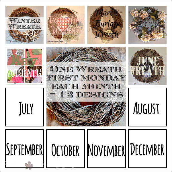 one wreath 12 ways june http://countrydesignstyle.com