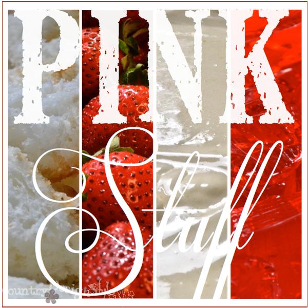 pink stuff a family recipe https://countrydesignstyle.com #recipe #summerdessert #strawberries