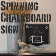 spinning chalkboard sign main