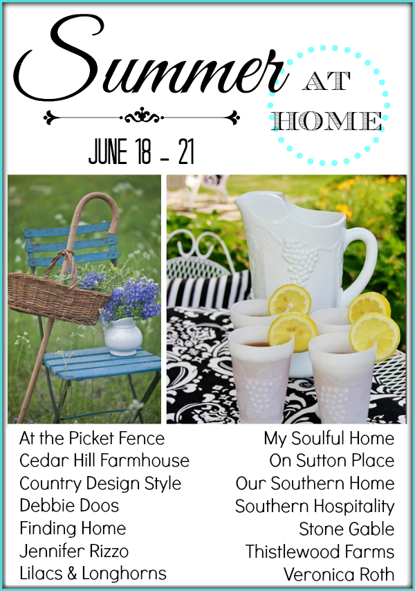 summer at home bloggers