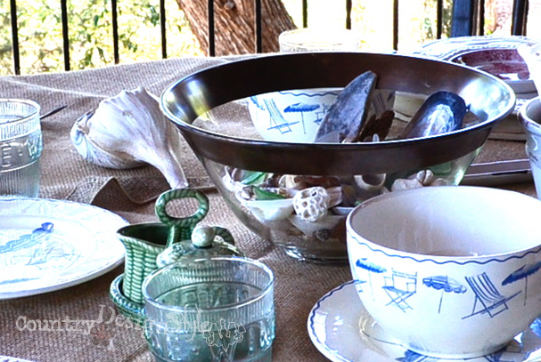 table close up http://countrydesignstyle.com #hometour #blogtour #summer