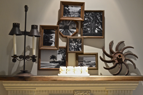 displayed on mantel https://countrydesignstyle.com #batterycandles #candles #lighting