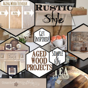 rustic style with aged wood https://countrydesignstyle.com #rusticstyle #diy #agedwood