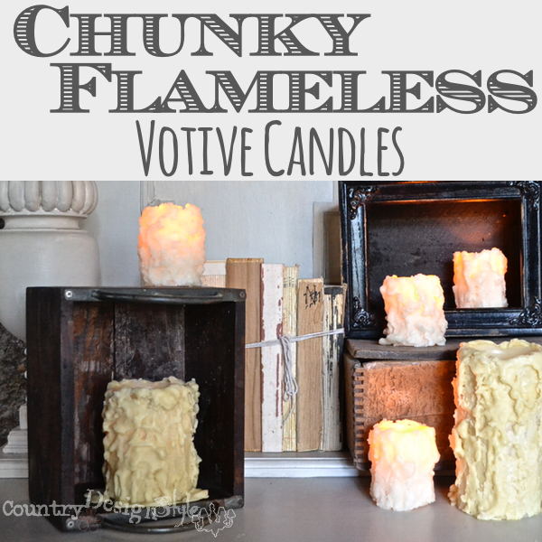 love them http://countrydesignstyle.com #batterycandles #candles #lighting