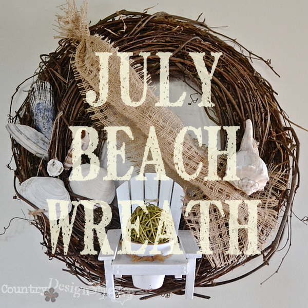 July Beach Wreath