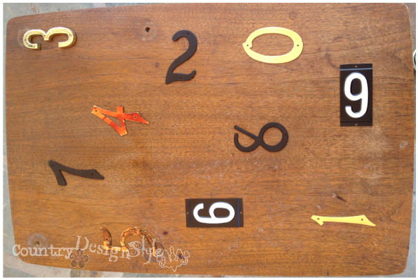 numbered table http://countrydesignstyle.com #repurposedfurniture
