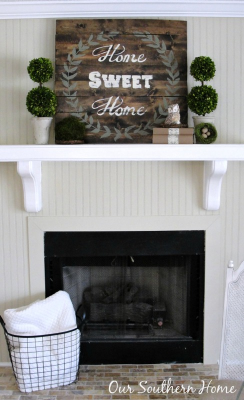 http://www.oursouthernhomesc.com/2014/03/budget-cottage-mantel-wall-makeover.html