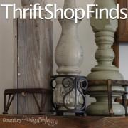 thrift shop finds https://countrydesignstyle.com #thriftshop #decor