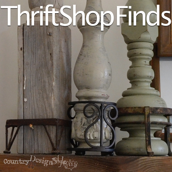 thrift shop finds https://countrydesignstyle.com #thriftshop #decor