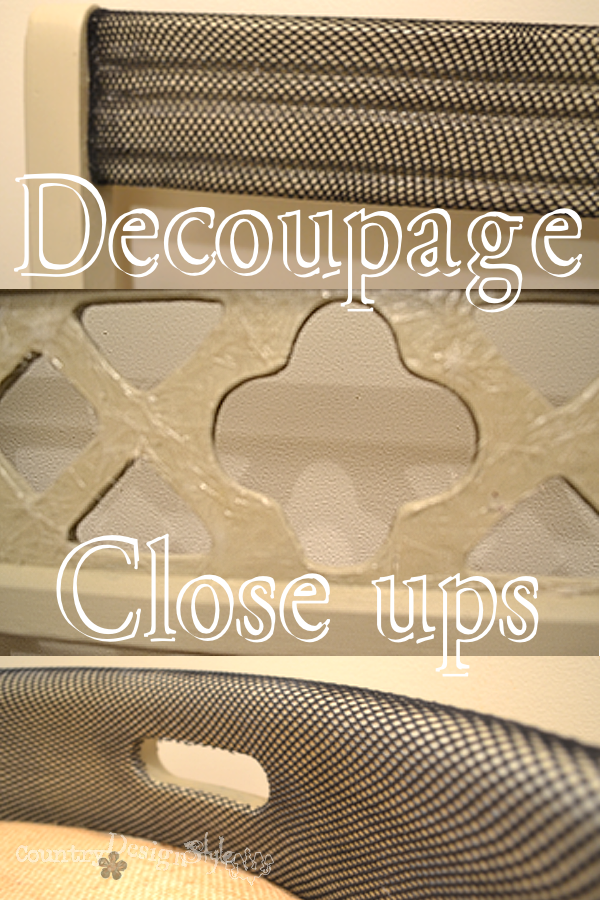 decoupage close up http://countrydesignstyle.com