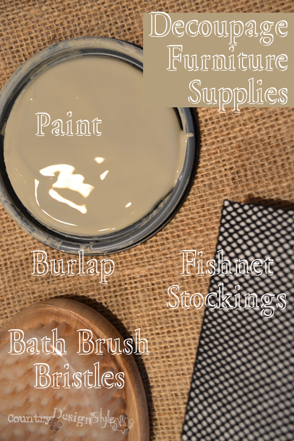 decouplage items http://countrydesignstyle.com