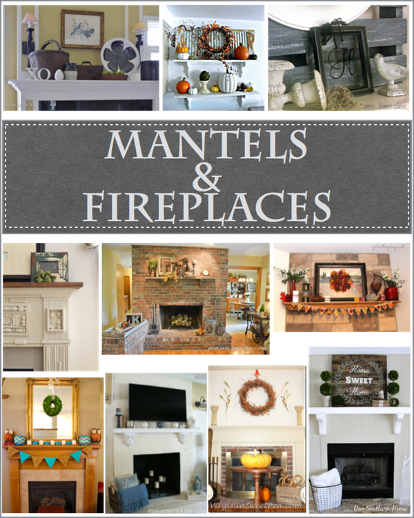 mantels and fireplaces pin https://countrydesignstyle.com
