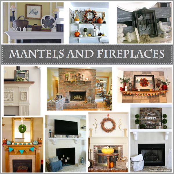 mantels and fireplaces https://countrydesignstyle.com