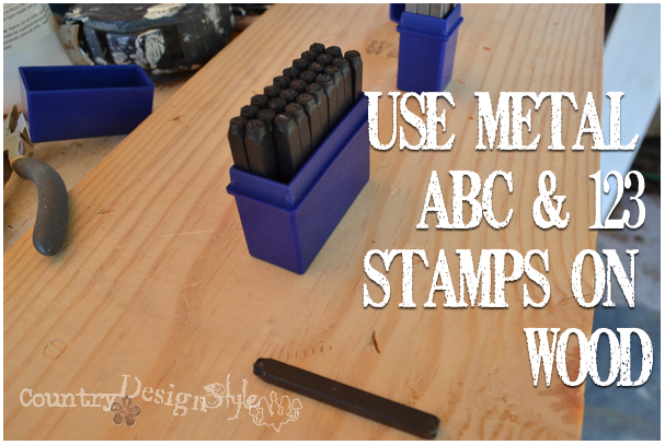 metal-stamps-on-wood-country-design-style