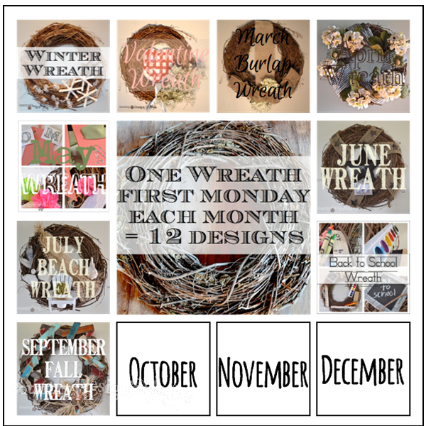 one wreath 12 ways https://countrydesignstyle.com #fall #wreath #rustic