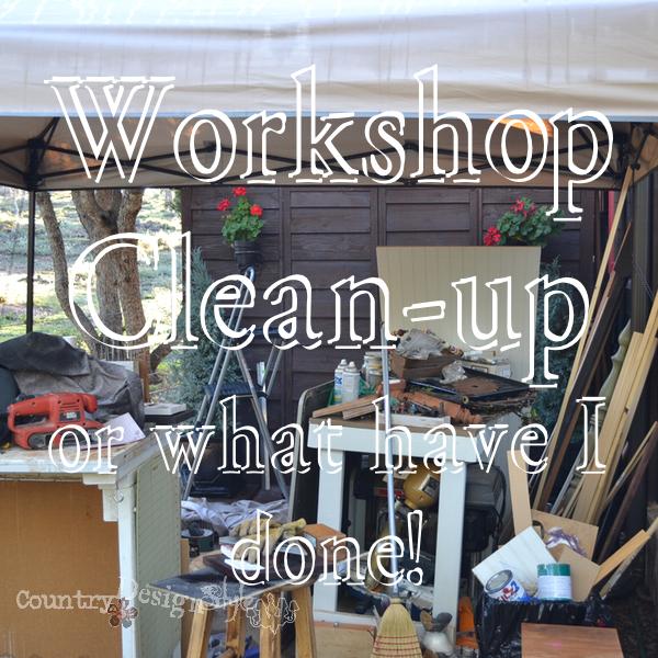 Workshop Clean Up
