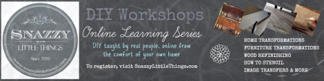 Snazzy Little Things Online Workshop Graphic