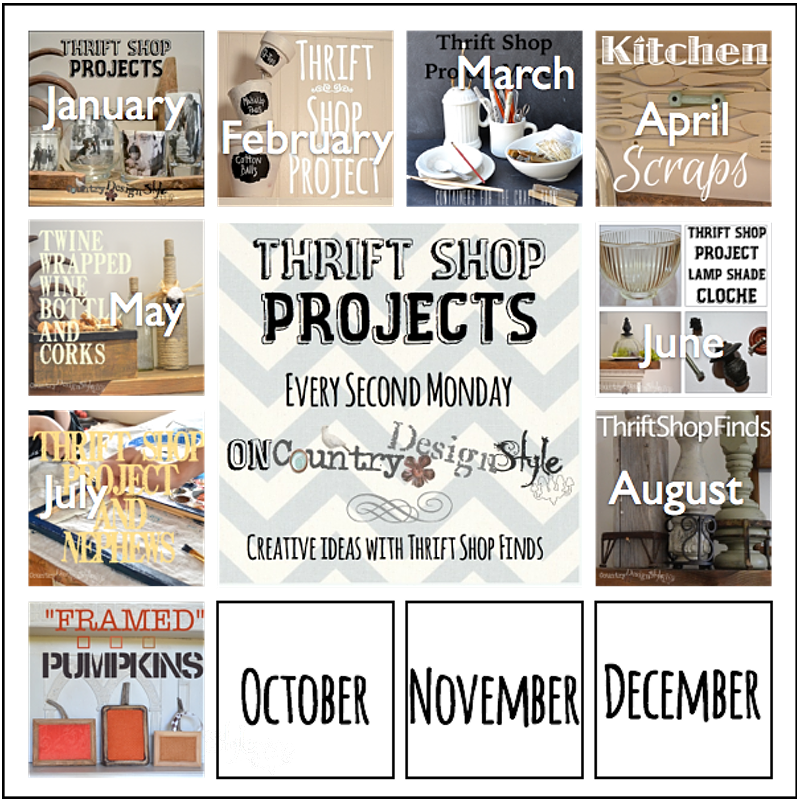 Thrift shop project september http://countrydesignstyle.com