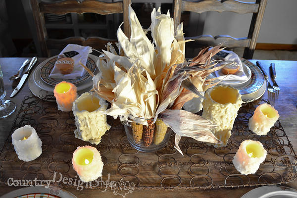 fall tablescape http://countrydesignstyle.com