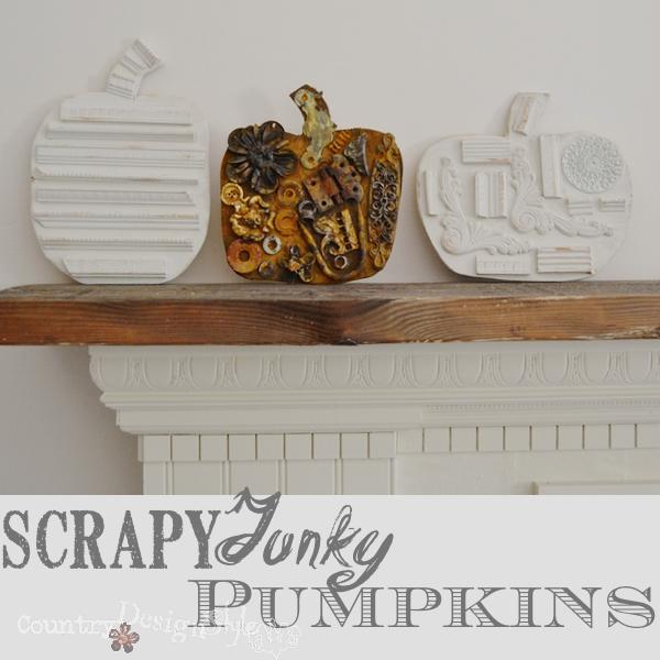 Best of DIY Link Party Scrapy Junky Pumpkins