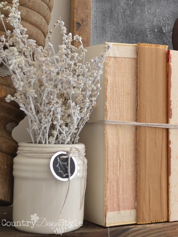 autumn-mantel-country-design-style-rubber-flowers